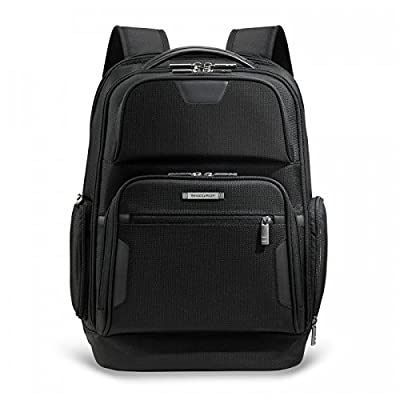 Briggs & Riley @ Work Luggage Backpack, Black, One Size