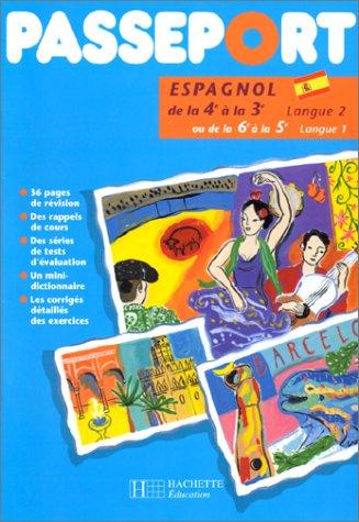 Passeport : espagnol, de la 4e à la 3e PDF Books