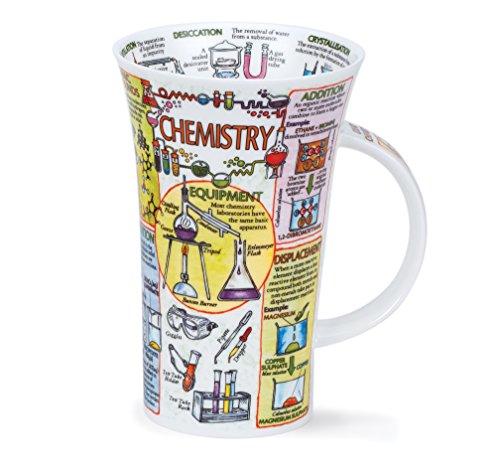 DUNOON Chemie Fine Bone China Tasse für Sekundarstufe I, eine Ebene, Grad, Lehrer,–Made in England