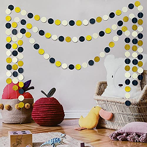10 Packs Cute Disc Garland Hanging Decoration Wall Decoration Curtain Holiday Party Wedding Room Classroom Layout 2 Meters Per Pack