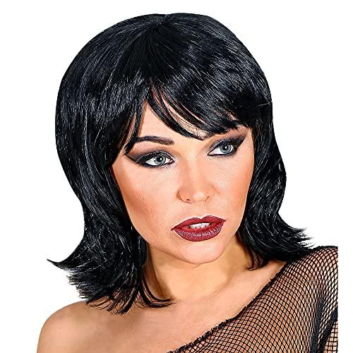 Widmann 04410 California Dreaming - Peluca para mujer, color negro