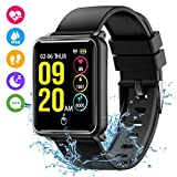 Fitness Trackers, Mpow 1.3'' Large Color Screen Waterproof IP68 Smart Watch Activity Tracker