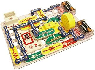 Snap Circuits PRO SC-500 Electronics Exploration Kit with Computer Interface & 73 Additional Experiments