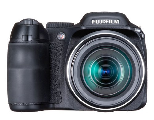 FujiFilm FinePix S 2000HD (10 Megapixel, 15-fach opt. Zoom, 6,9 cm (2,7 Zoll) Display, Bildstabilisator) schwarz