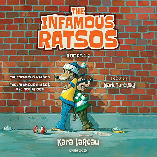 The Infamous Ratsos: Books 1-2 cover art