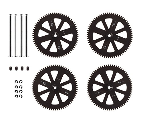 HONBAY Parrot AR Drone 2.0 Pinion and Spur Gears Upgraded Design and Material Orange Parrot AR Drone 1.0 & 2.0 Repair Gears Replacement Pinion and spur Spare Parts