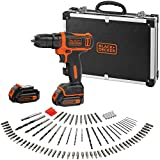 BLACK+DECKER BDCDD12BAFC-QW Perceuse visseuse sans fil - Chargeur inclus - 100...