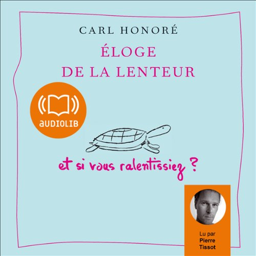 Eloge de la lenteur  audiobook cover art