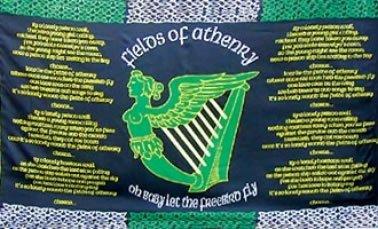 Celtic Ireland Fields of Athenry Flag