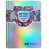 DIARIO SCUOLA Be You Be - u Be yourself POCKET Iridescente 2021-2022 + omaggio penna paillettes 6 colori...
