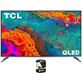 TCL 75S535 75 inch 5-Series 4K QLED Dolby Vision HDR Smart Roku TV Bundle with Premium 2 Year Extended Protection Plan