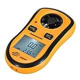 kunse gm8908 termometro anemometro digitale tascabile per misuratore di velocità del vento