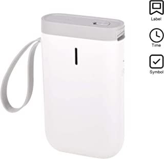 Aibecy Label Maker Machine Portable BT Wireless Thermal Label Printer Handheld Name Price Sticker Printer BT Connection with USB Cable for Office Supermarket Store