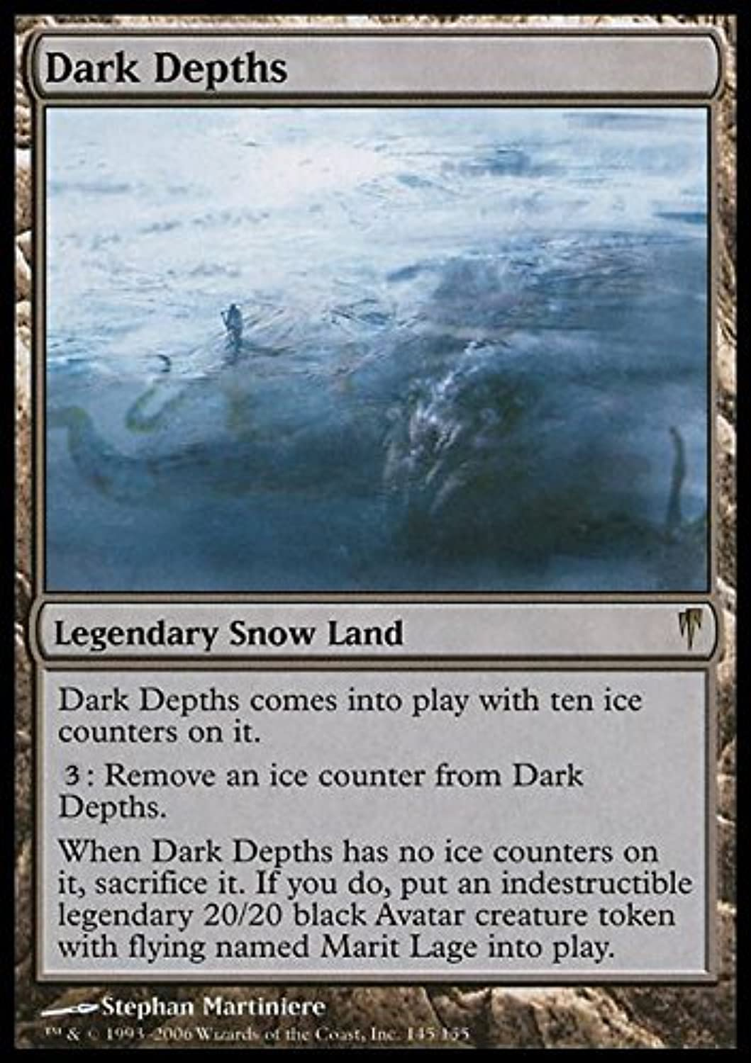 Magic  the Gathering  Dark Depths  Coldsnap by Magic  the Gathering