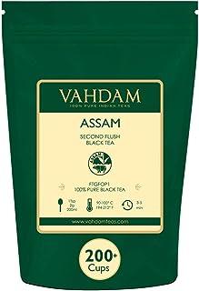 comprar comparacion Hoja de Té Negro Assam (+200 Tazas) | FUERTE, MALTEADO E INTENSO | 100% Puro, Sin Mezclas | Té Negro a Granel | Sirve de T...