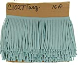 HHH Designs Turquoise Blue Leather Fringe...
