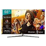 Hisense 55U81GQ ULED 139cm (55 Zoll) Fernseher (4K ULED HDR Smart TV, Quantum Dot, Ultra Premium HD,...