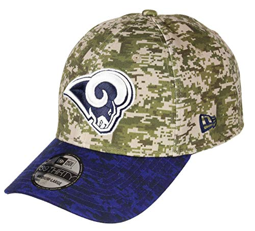 New Era Los Angeles Rams 39thirty Adjustable cap NFL digi Camo Camouflage/Blue - L-XL
