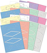 Hunkydory Window to the Heart Luxury Shimmering Aperture 16 Card Blanks with Envelopes
