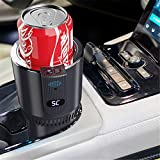 MINHUISHANGMAO DC 12V Car Heating Cooling Cup 2-in-1 Car Office Cup Warmer Cooler