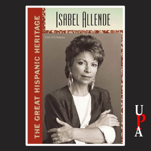 Isabel Allende audiobook cover art