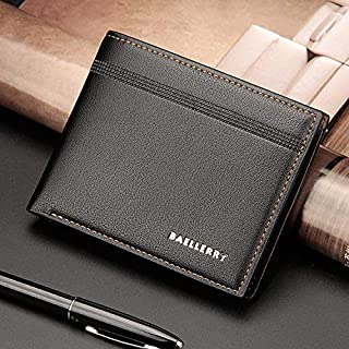 Baellery Classic Bifold Wallets For Men,Leather