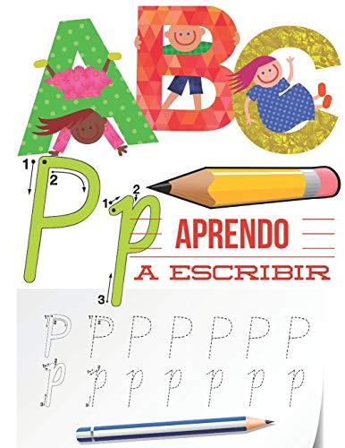 Aprendo a escribir: Mejora del manejo del lápiz, Preescritura Alfabeto, Recomendado para trabajar en Jardín de infancia preescolar