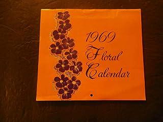 1969 Floral Calendar Paulson's Tacoma, WA