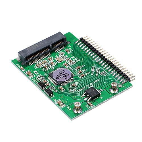 pedkit mSATA, mSATA (PCI-E) SSD to 2.5'' 44Pin IDE Converter Adapter As 2.5 Inch IDE HDD For Laptop 5V