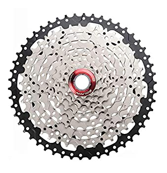 BOLANY 8-9-10-11-12 Speed Cassette 11-32T 11-36T 11-40T 11-42T 11-46T 11-50T 11-52T Wide Ratio MTB Bicycle Part Freewheel Sprocket  9 Speed 11-50T