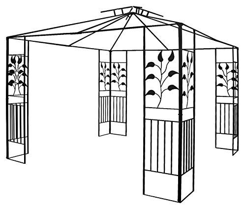 Pavillon Ersatz - Gestell Metall 64103 ohne Dach