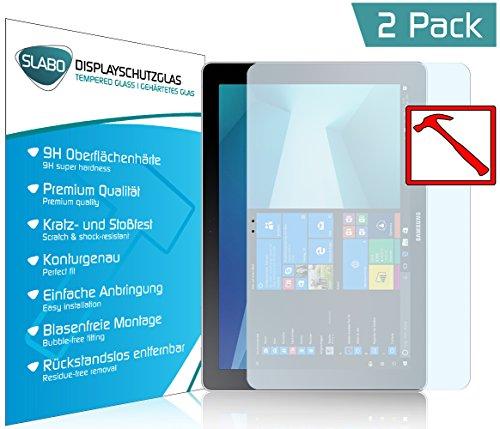 Slabo 2 x Premium Panzerglasfolie für Samsung Galaxy Book 12