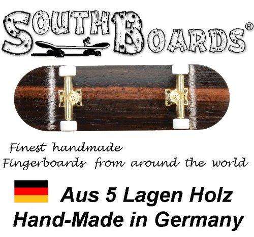 Unbekannt Komplett Fingerskateboard Oak/GO/WS SOUTHBOARDS® Handmade Wood Fingerboard Echtholz
