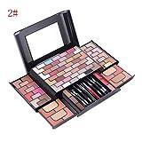 HJSMZ 68 Colores Paleta de Sombras de Ojos Brillantes y Mate Paleta de...