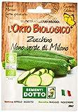 Sdd O.Bio_Zucchino Nano Verde Milano Seme, 0.02x15.5x10.8 cm