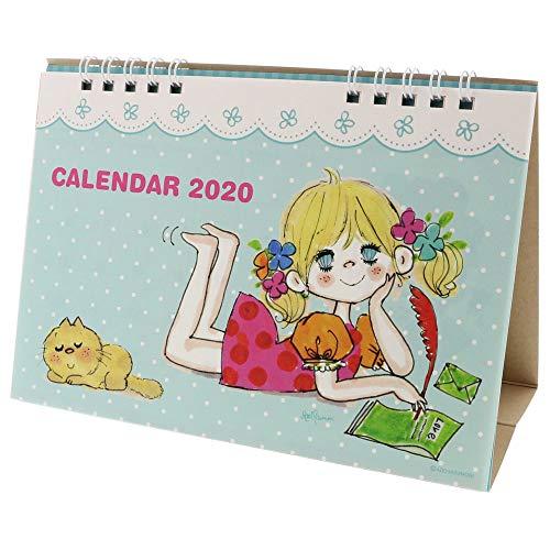 サンスター文具 水森亜土 2020年 カレンダー 卓上 S8517886