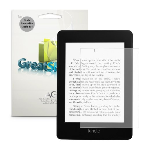 GreatShield (3-Pack Ultra Anti-Glare (Matte) Protezione dello Schermo Film Shield per Amazon Kindle Paperwhite, Kindle (2011) / 2nd Gen, Kindle Touch e Kobo Aura Edition 2