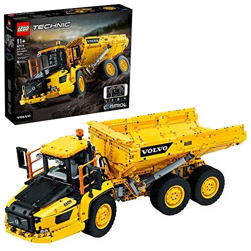 LEGOTechnic6x6VolvoCamionArticolato,AutoRibaltabileRCVolvo,SetdiCostruzioni,42114