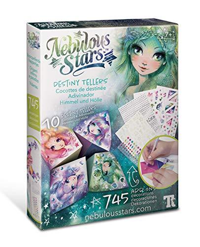 Nebulous Stars NS11013 Himmel und Hölle, Fingerspiel zum Selbstgestalten und Verzieren, für Mädchen ab 7 Jahre, als Geschenkidee