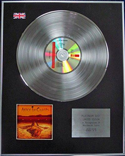 Century Music Awards ALICE IN CATENE - Edizione limitata CD Platinum Disc - DIRT