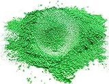 HEMOER Mica-Pulver, 50 g, grasgrüne, natürliche Pigmente, organisiert mit Perlglanz, für DIY...