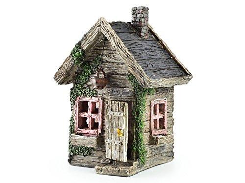 Miniature Fairy House Statue – Garden Décor Accessories Home for Fairies (Fairy Shed)