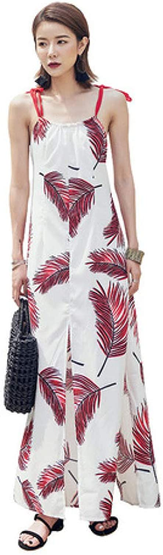ZENWEN Beach Skirt Seaside Holiday Backless Dress Super Fairy Slim Skirt Summe