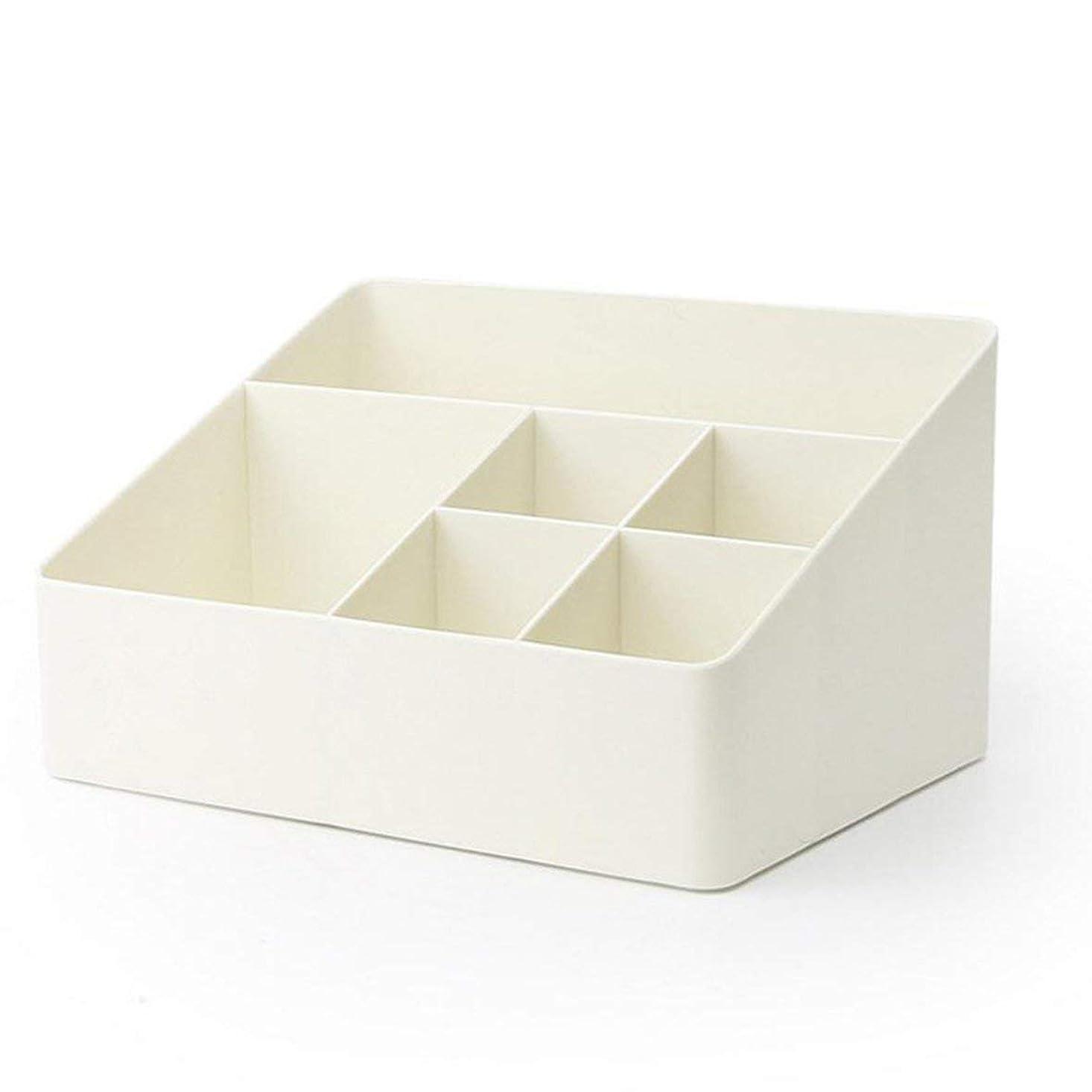 広告主つまずく意識Blackfell 簡単な6グリッドプラスチック収納ボックス収納用クリーニングcasefor家庭用
