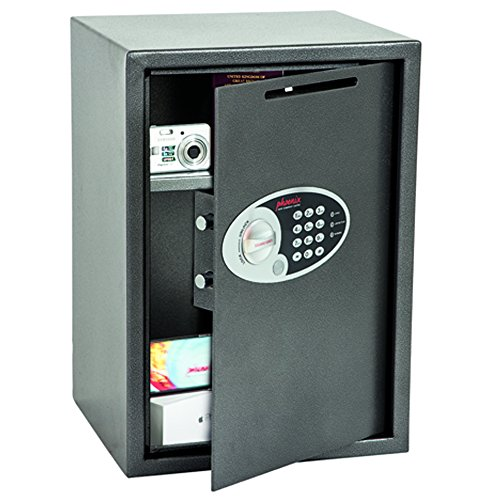 Phoenix Vela SS0804ED Deposit Home & Office Safe mit elektronischem Codeschloss Graphit-Grau (groß)