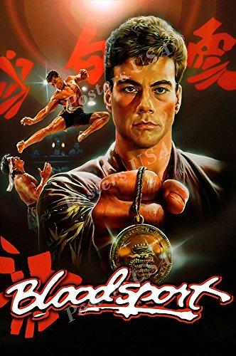 Posters USA - Van Damme Blood Sport Movie Poster GLOSSY FINISH - FIL186 (24' x 36' (61cm x 91.5cm))