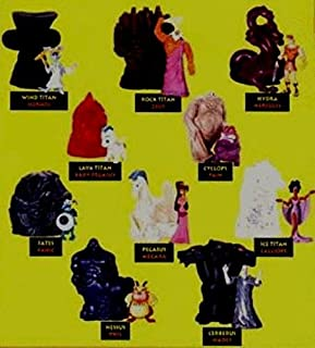 1996 Mcdonalds Happy Meal Toys Walt Disney 10 Piece Hercules TOY Figurines Set