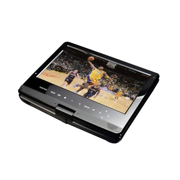 Portable 10-Inch Blu-Ray DISC/DVD Player (Black) 6