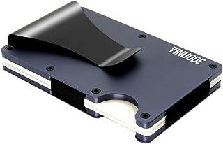 Minimalist Aluminum Fibre Slim Wallet, Slim Wallet & RFID Blocking Front Pocket Wallet?Minimalist Wallet for Men And Women
