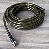 Water Right PSH-050-MG-4PKRS (7/16') 400 Series Hose, 50-Foot, Olive Green